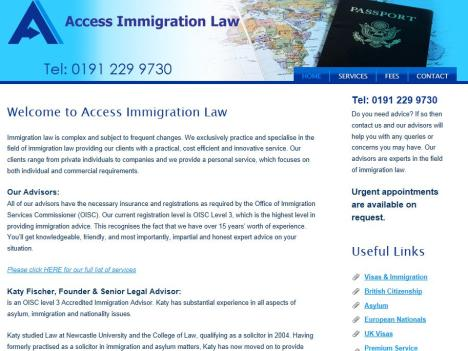 Access Immigration Law