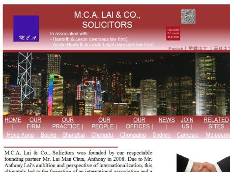 M.C.A. Lai & Co., Solicitors