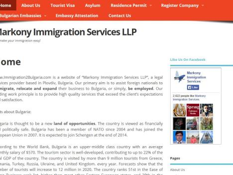 Markony Immigration Services LLP