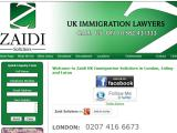 Immigration Lawyers London - Zaidi Solicitors